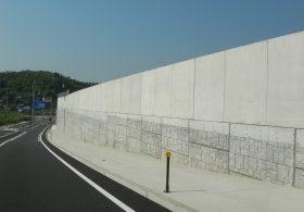 施工事例4 剛性防護柵基礎