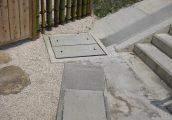 施工事例5 自由勾配側溝(KVS側溝)2