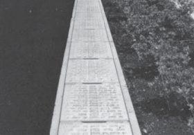 施工事例 道路 オリジナル側溝 エコノミー側溝