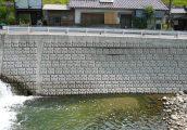 施工事例 河川工事 河川・環境保全型製品 ネスブロック