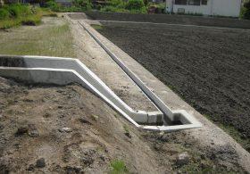 施工事例 圃場整備 水路用製品 圃場桝2