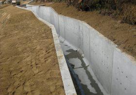 施工事例 河川工事 水路用・フリューム製品 大型フリューム(Wタイプ)