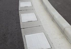 施工事例 道路 オリジナル側溝 自由勾配側溝(KVS側溝)