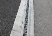 施工事例 道路 オリジナル側溝 円形水路