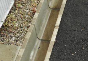施工事例 道路 道路用一般製品 上ぶた式U型側溝(U字溝)