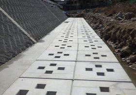 施工事例 河川工事 河川製品 根固めブロック