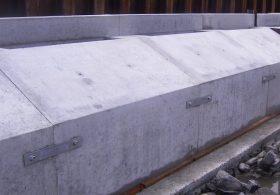 施工事例 河川工事 河川製品 コンクリート基礎