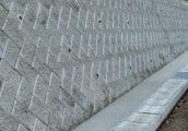 施工事例 河川工事 法面製品 サンロック