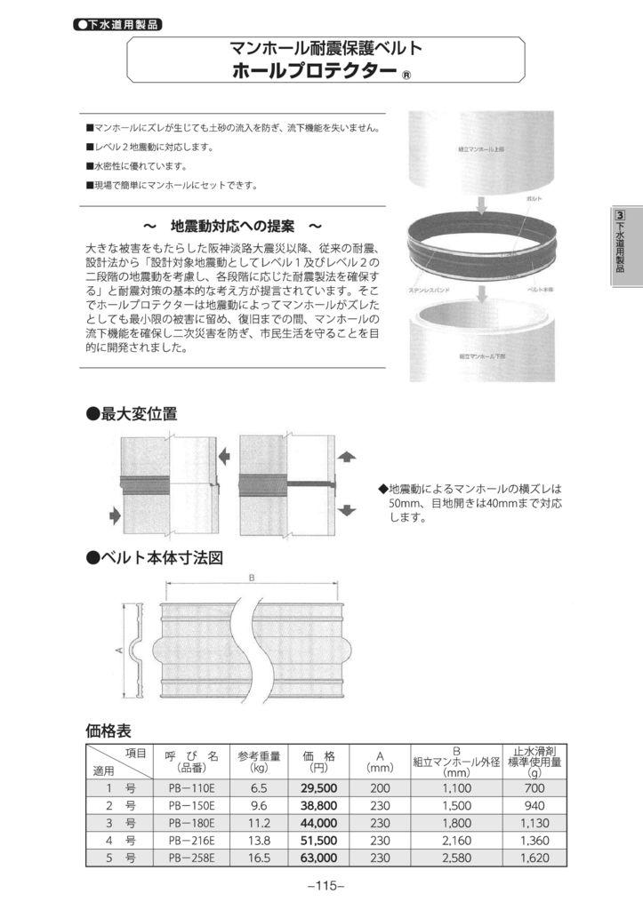 マンホール|ホールプロテクタ― 外形寸法 0
